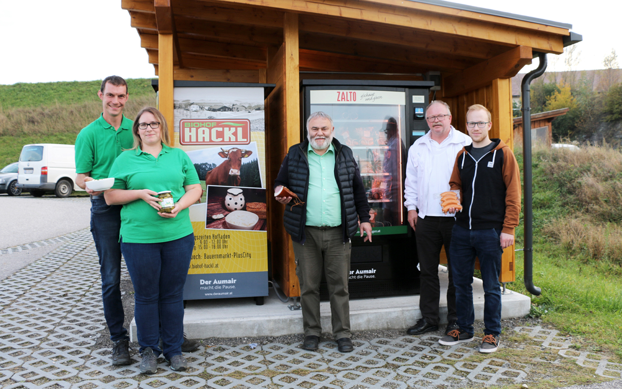 Biohof Hackl Zalto Automat Der Veldner Herbst 2020